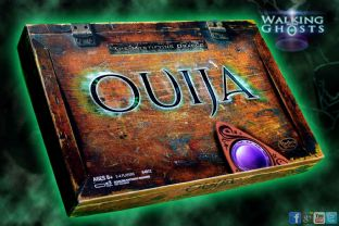 Glow in the Dark Ouija Board & UV illuminated Planchette Spirit Paranormal Rare